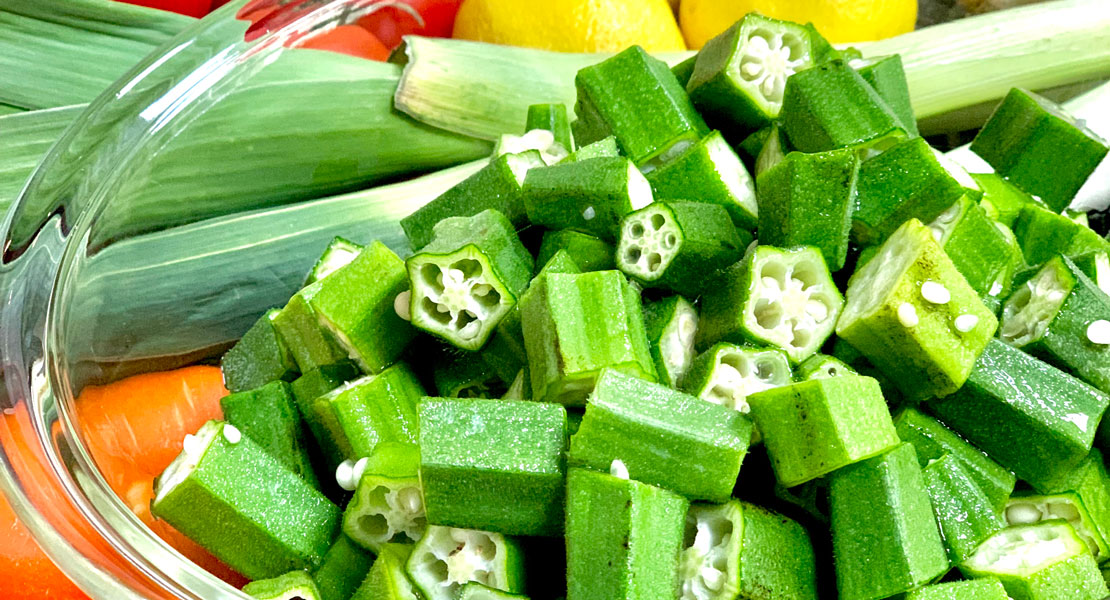 Okra's health benefits