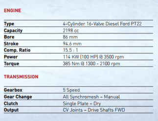 ox-flat-pack-truck-engine-transmission-specs