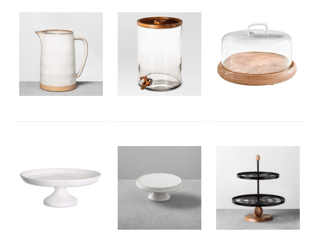 affordable serving pieces every hostess should own