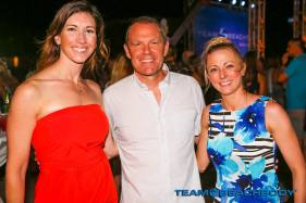 Me and my friend, Brooke with the CEO of Beachbody, Carl Daikeler