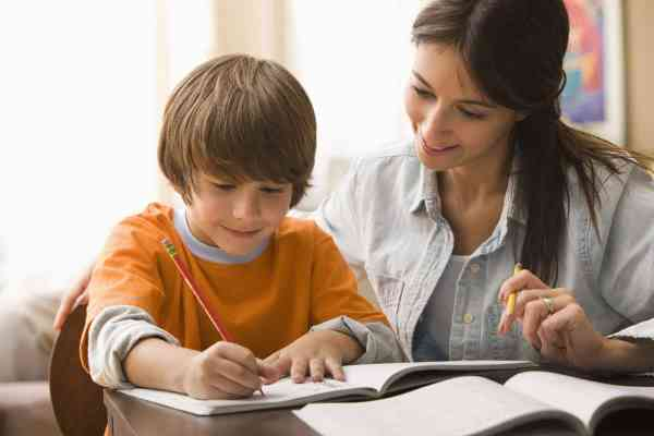 Parents Helping Kids with Homework