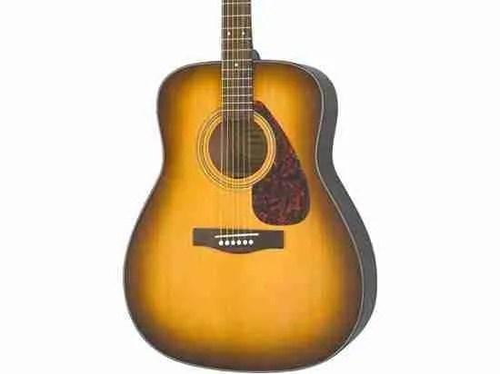Yamaha F335 tobacco brown sunburst acoustic guitar