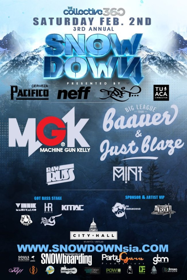 snowdown mgk