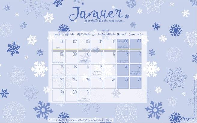 calendrier papier mai