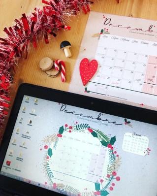 calendrier decembre 2