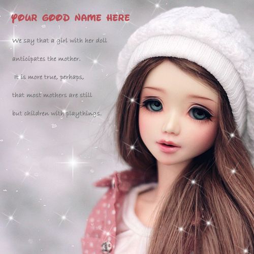 Cute Baby Doll Wallpaper Download Cute Doll Picture With Quotes Wishes Greeting Card