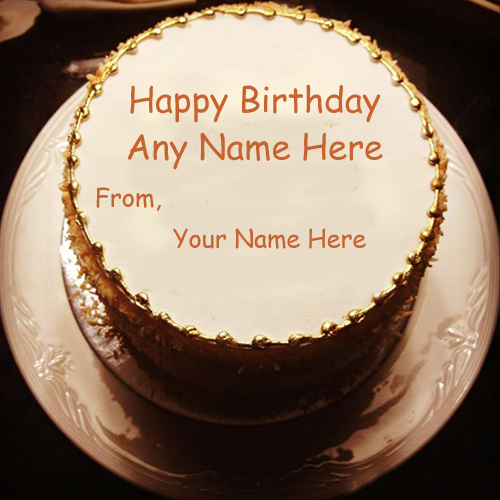 Custom Name Birthday Wishes Beautiful Cake Pictures Edit My Name Pix Cards