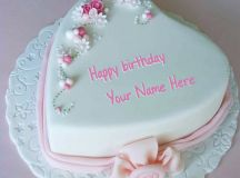 Birthday Cake for Lover With Name