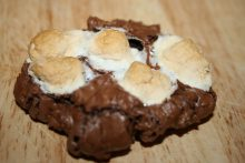 A Rocky Road Cookie