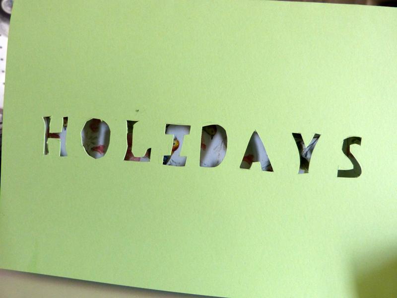 Happy Mail holidays