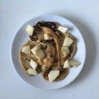 Pancakes à la poire
