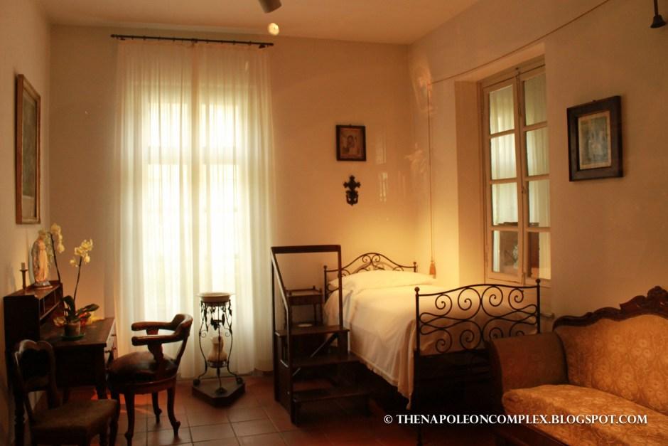 John Bosco's room