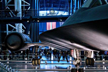 SR-71 in NASM