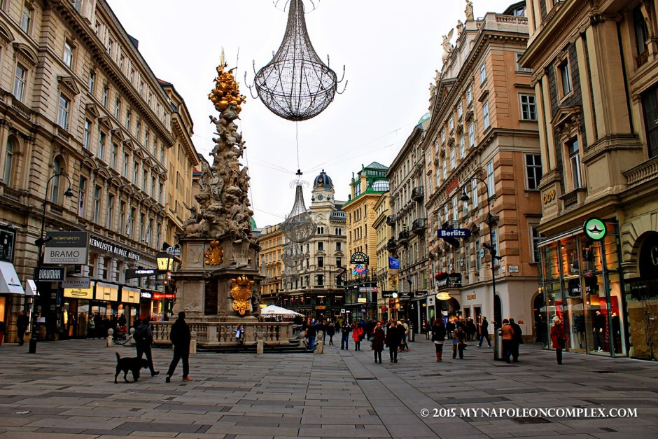 Picture of Graben, a famous street in Vienna
