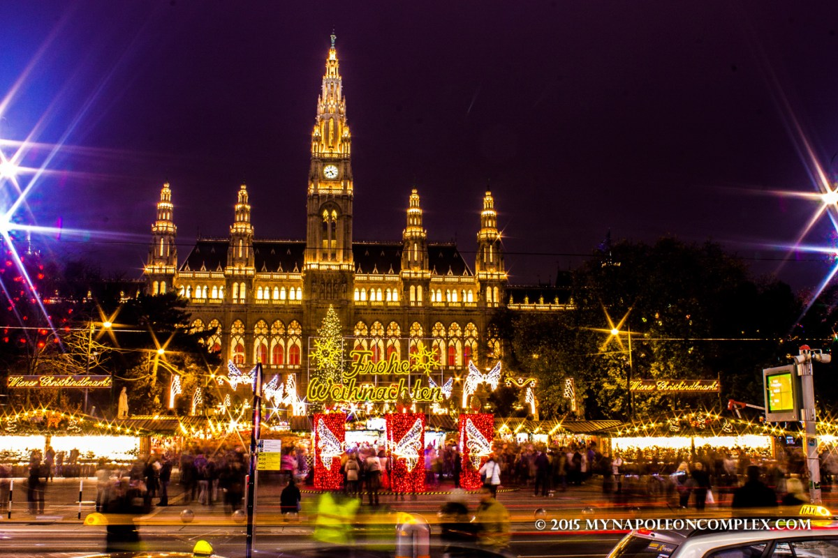 Viennese Christmas Markets + What we ate in Vienna