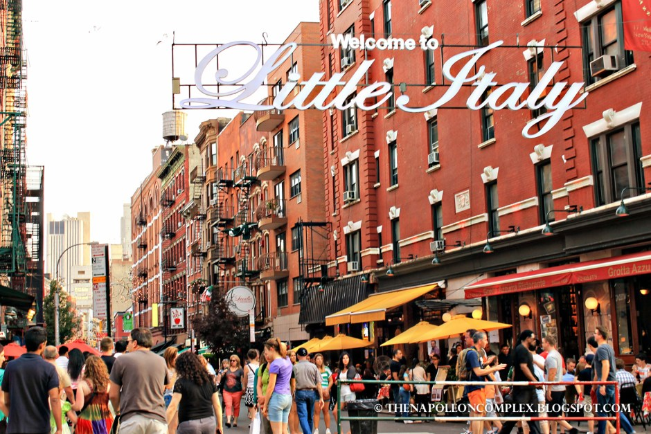 Picture of Little Italy, NYC