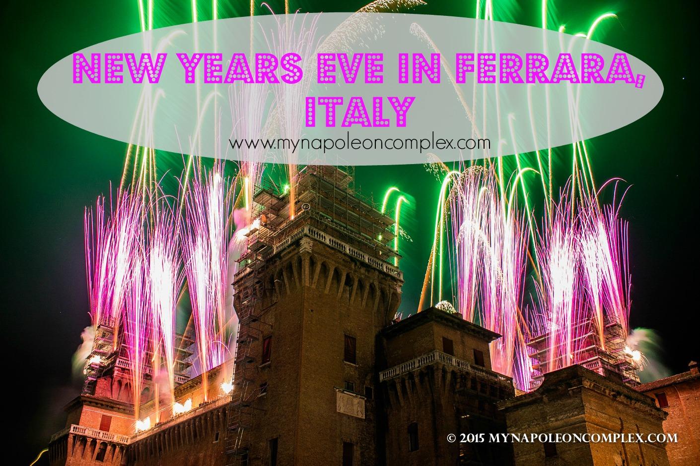 New Years Eve in Ferrara