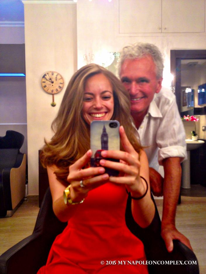 Rome favorites: Hair Makeovers at Noi Salon!