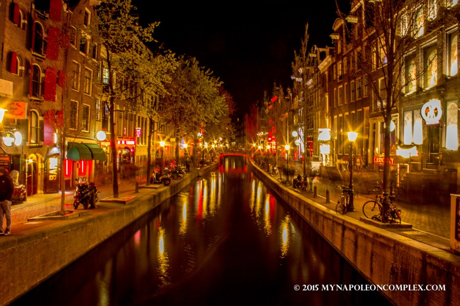Picture of Red Light District, Amsterdam.