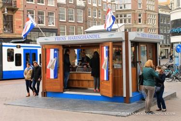 Picture of Frens Haringhandel, Amsterdam