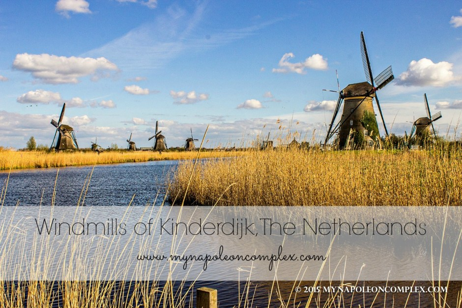 Windmills of Kinderdijk, World Heritage Site in the Netherlands