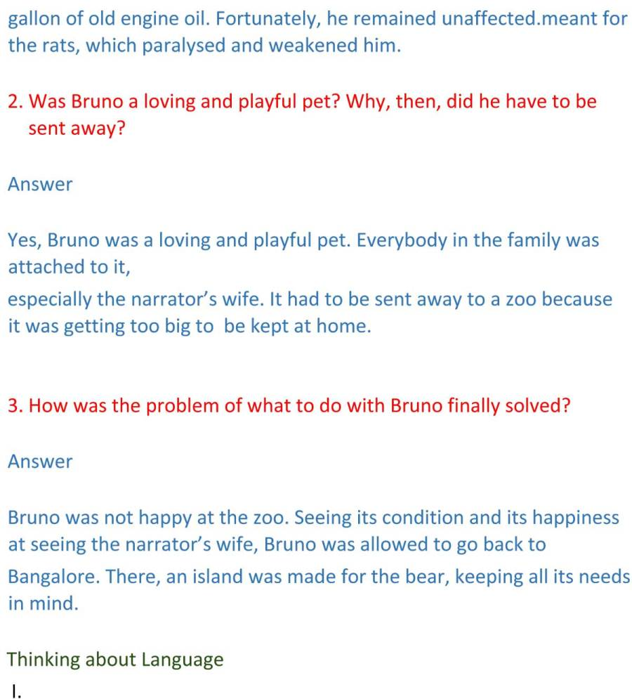 ncert solutions for class 9 english chapter 16 beehive the bond of love 4
