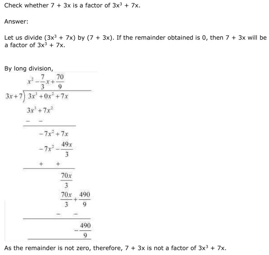ncert solutions for class 9 maths chapter 2 polynomial 15