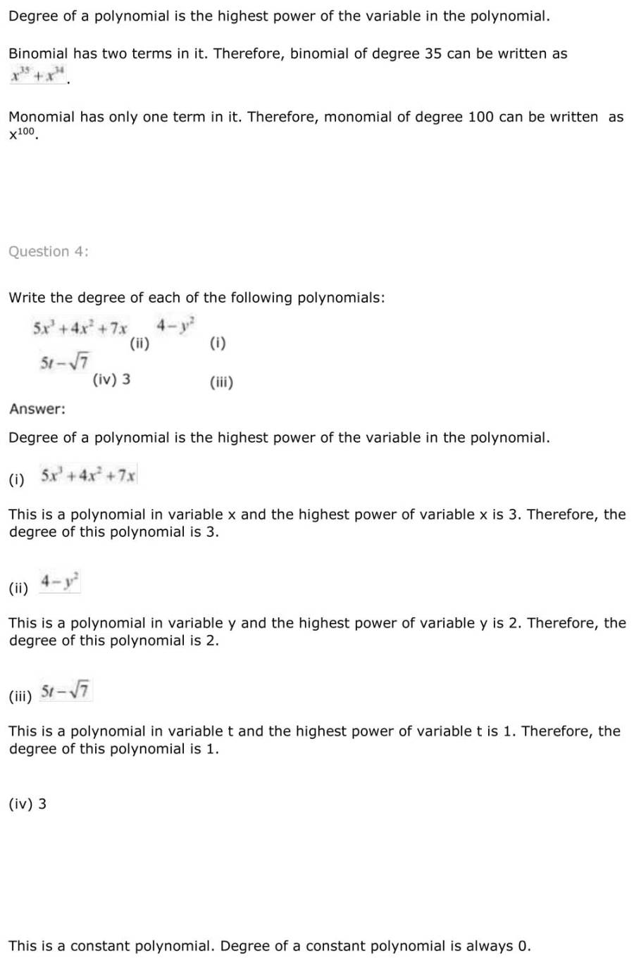 ncert solutions for class 9 maths chapter 2 polynomial 3