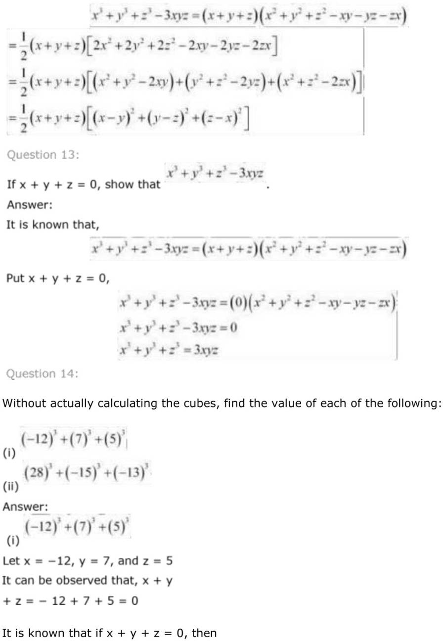 ncert solutions for class 9 maths chapter 2 polynomial 38
