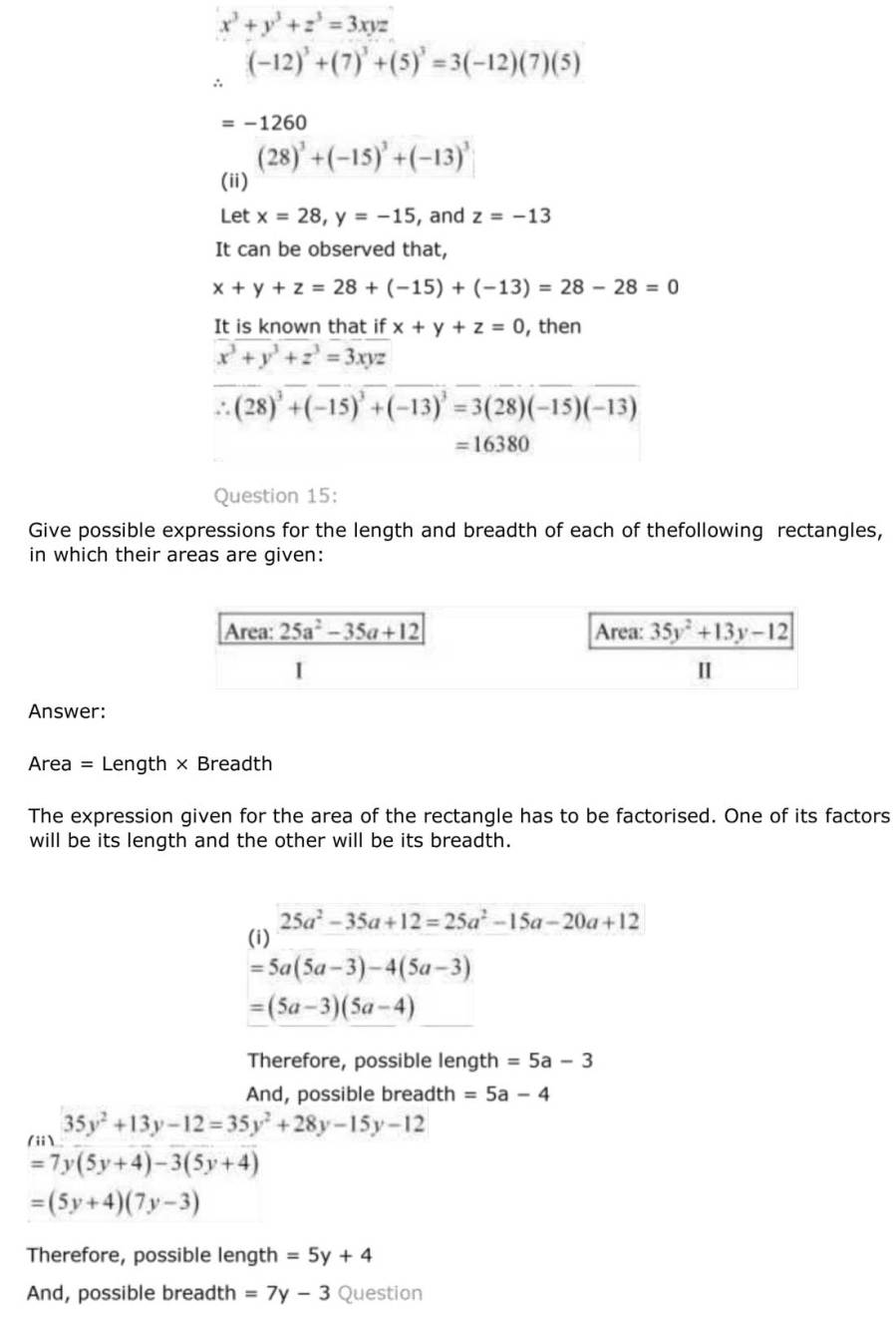 ncert solutions for class 9 maths chapter 2 polynomial 39