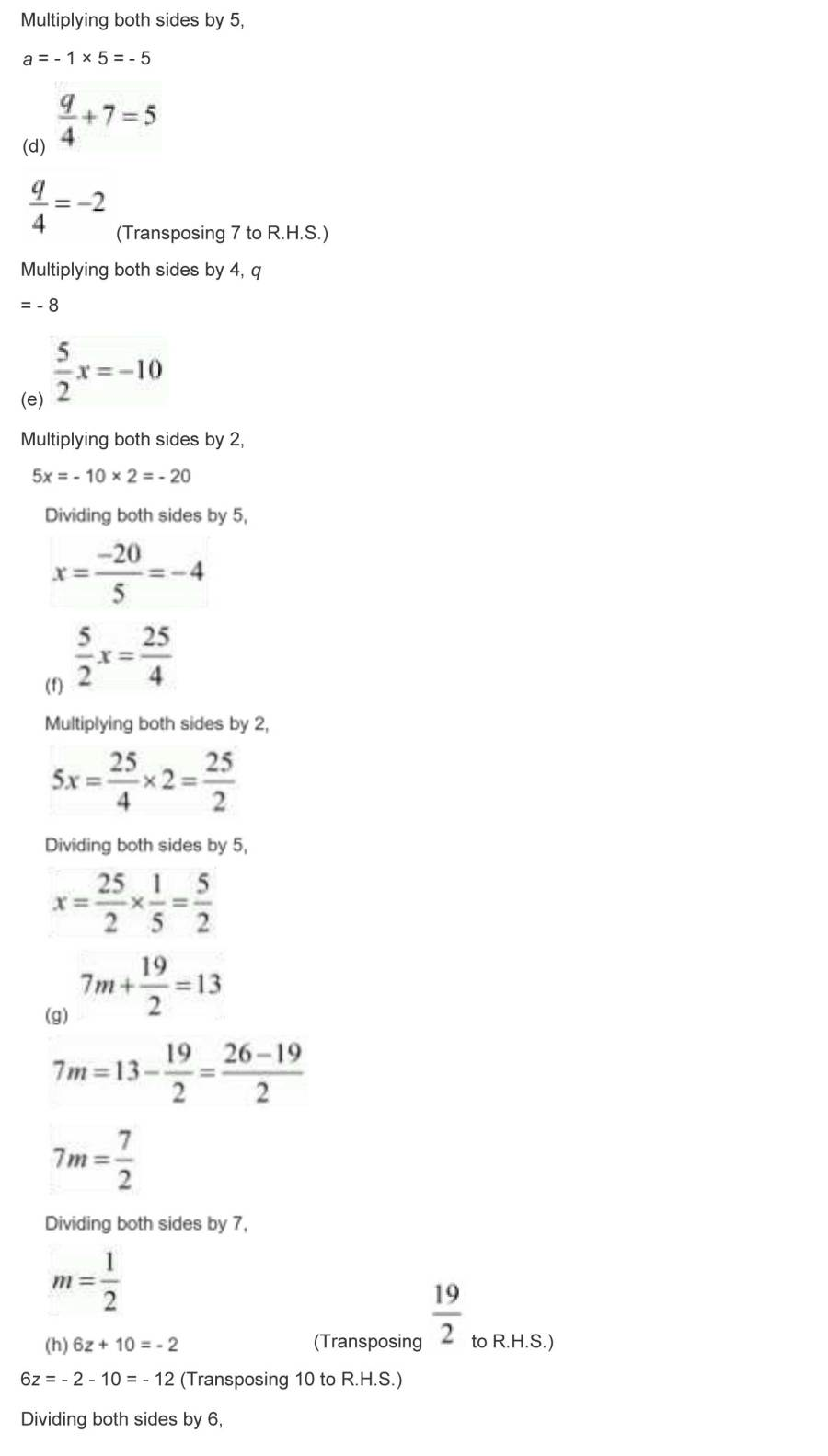 ncert solutions for class 7 maths chapter 4 simple equations 16