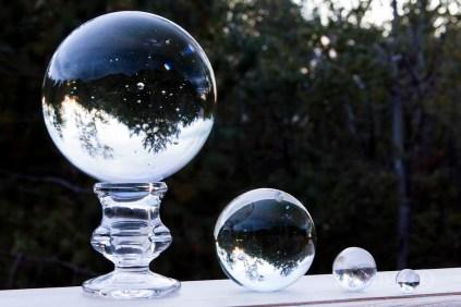 The original glass balls