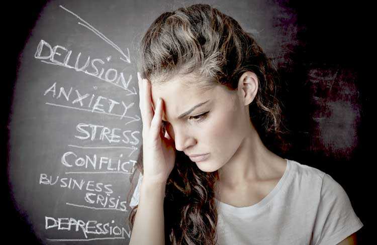 Stressed-Woman-Suffering-Burnt-Out-Symptoms