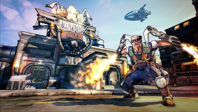 Borderlands game play screen shot Top Couch Co-Op Games