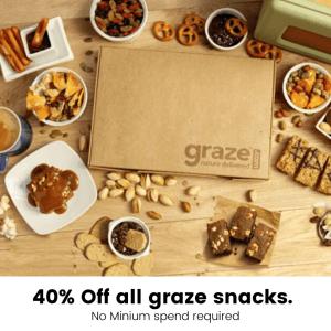40% off graze