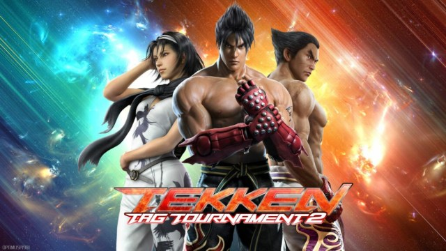 Tekken Tag Tournament 2 intro screen Top Couch Co-Op Games