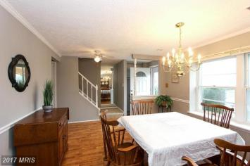 Occupied Dining Staging