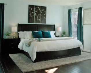 Occupied Master Suite Staging