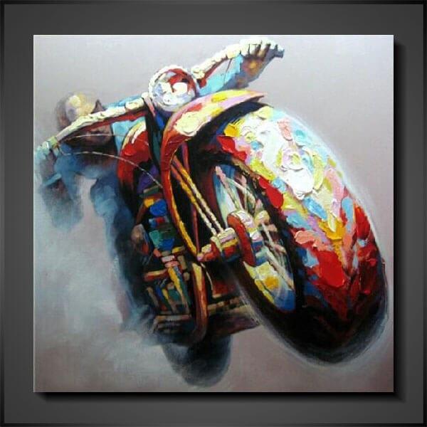 Modern konst the bike