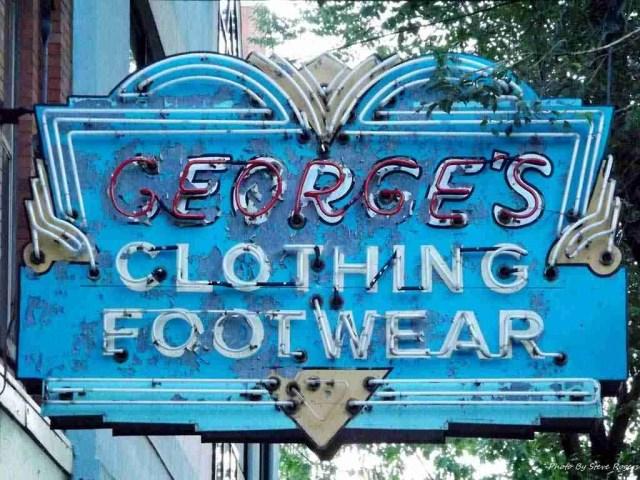 G.E. George's Sign