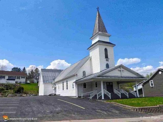 United Baptist Church, Plaster Rock, NB