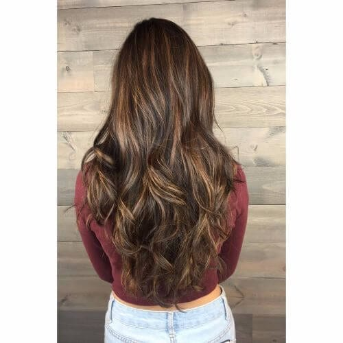 brown hair color balayage