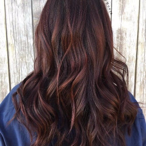 Chocolate Red Hair