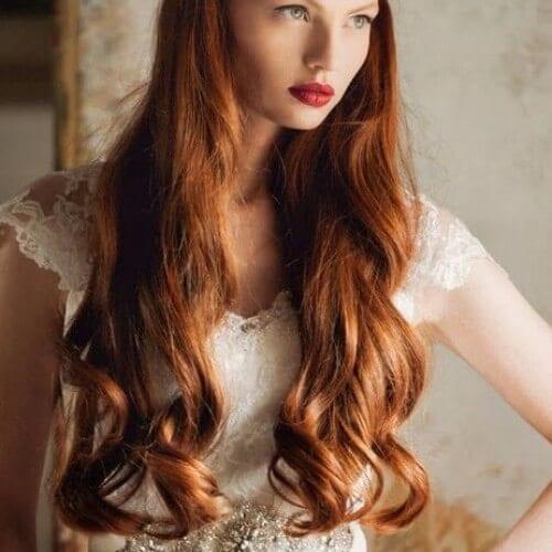 Copper Red Hair vintage