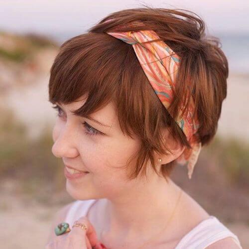 bandana hairstyle