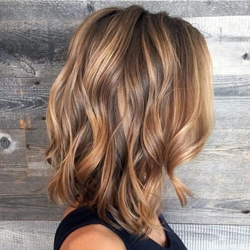 Golden Bronze Hair Color