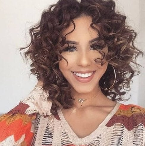 medium length haircuts for naturally curly hair 40 hairstyles for curly hair 3275