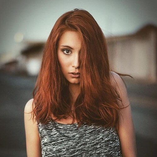 Auburn Red Color
