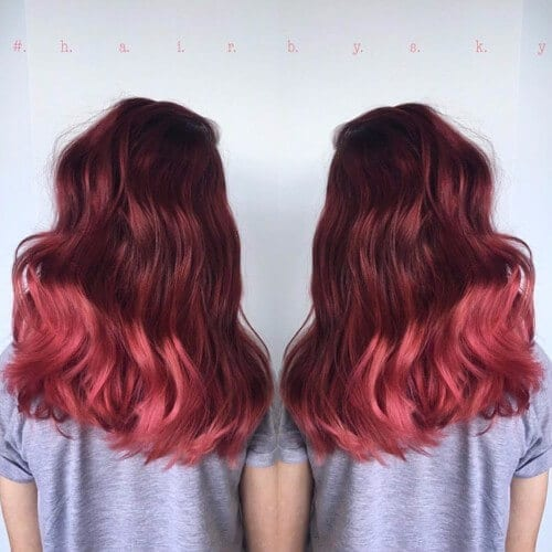 Rusty Red Ombre