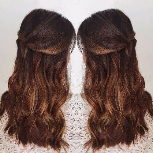 80 caramel hair color ideas for all hair types dark caramel ombre on long hair urmus Image collections